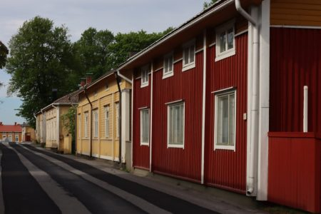Wooden houses of Kristinestad, Finland