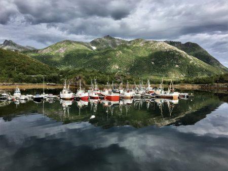 Norway by motorhome: Augustvågøya, Lofoten