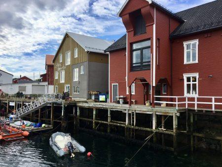 Central Henningsvær, Lofoten