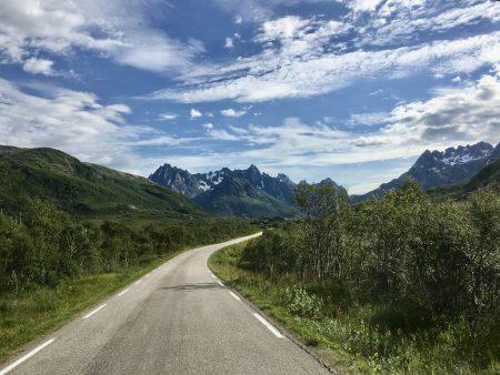 Drive through the Lofoten Islands, Norway