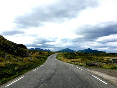Spectacular drive through Lofoten