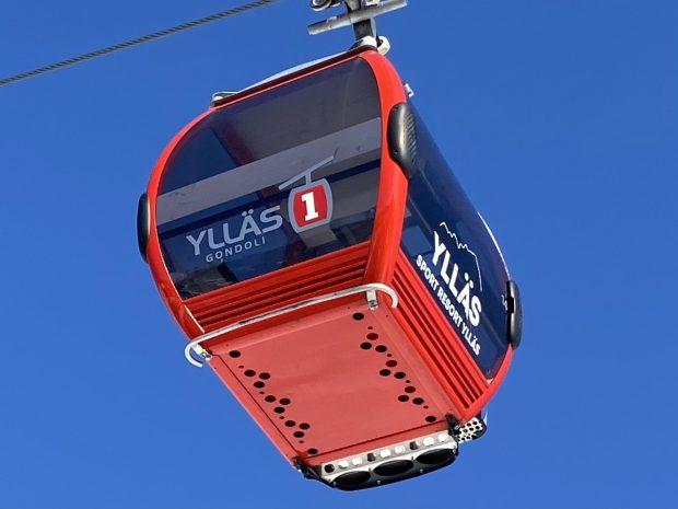 Arctic Lapland spring: the Ylläs gondola