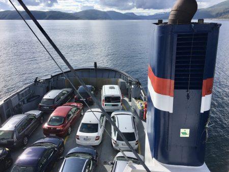 Andenes-Gryllefjord ferry