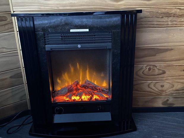 Northern Lights Village Levi fireplace