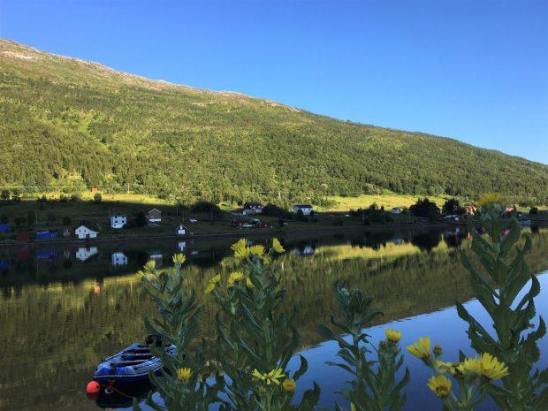 Norway by motorhome: Kvaløya landscape