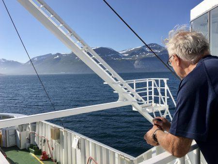 Norway by motorhome: on the Svensby-Breikveidet ferry