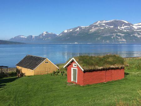 Norway by motorhome: Svensby, Lyngen