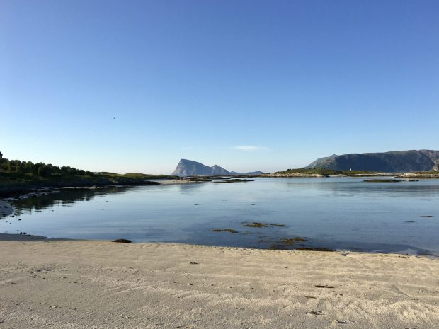 Sommarøy, the Caribbean island of Norway