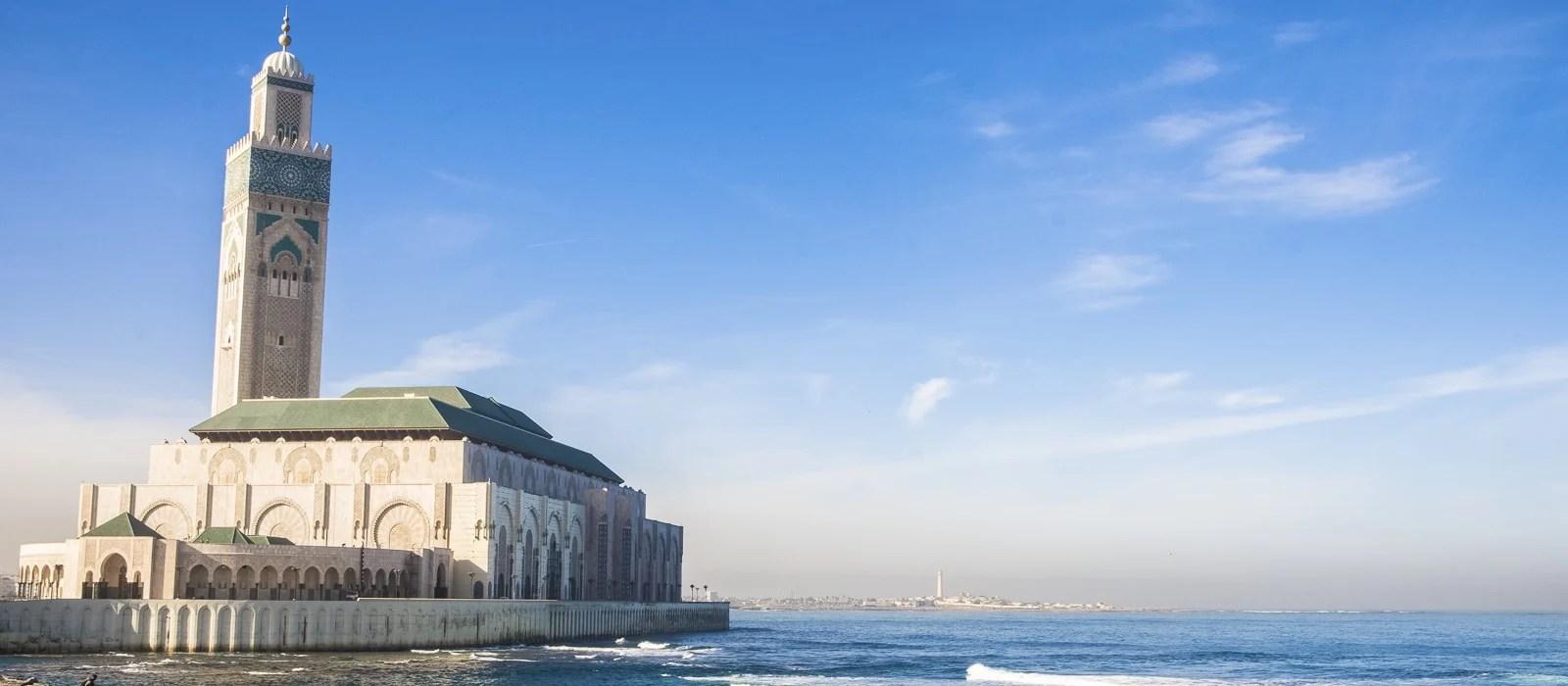 Mosquée Hassan-II à Casablanca au Maroc - Les Routes du Monde