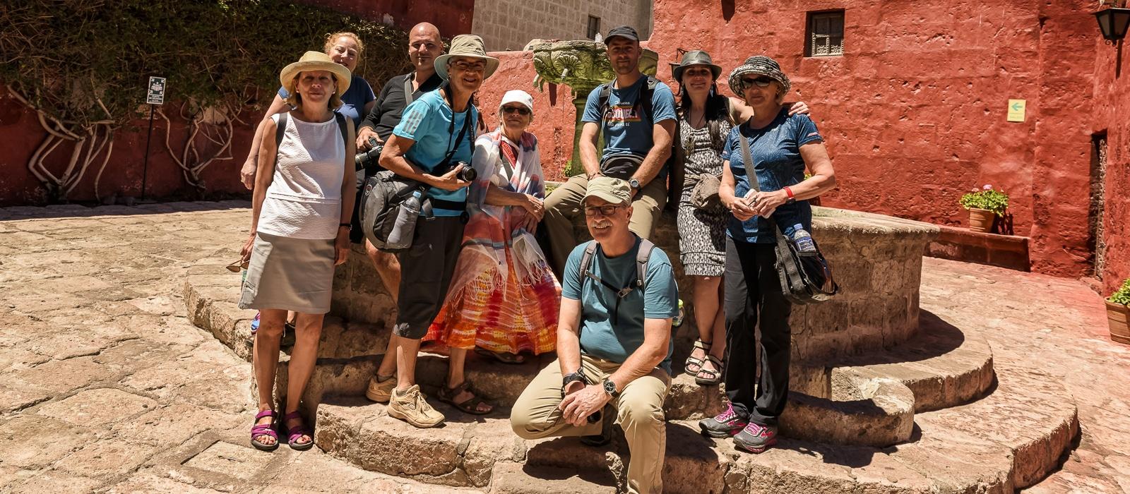 Monastère de santa catalina, Arequipa, Pérou - Voyage organisé en petit groupe offert par l'agence de voyage Les routes du Monde