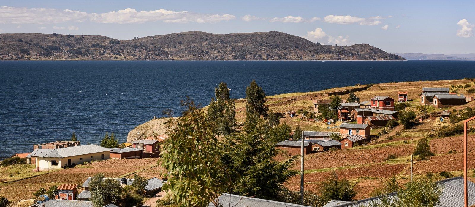 Séjour chez l'habitant à Luquina, lac titicaca, Pérou - Voyage organisé en petit groupe offert par l'agence de voyage Les routes du Monde