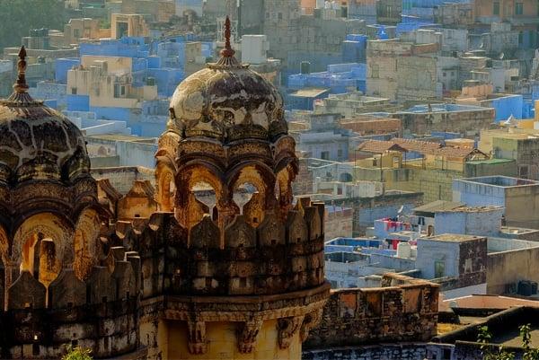 Rajasthan et Benares