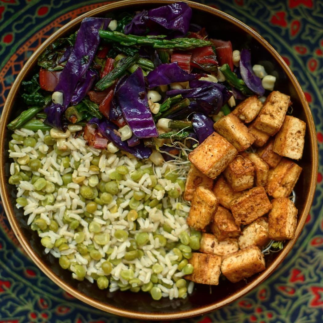 Gluten Free Vegan Buddha Bowl