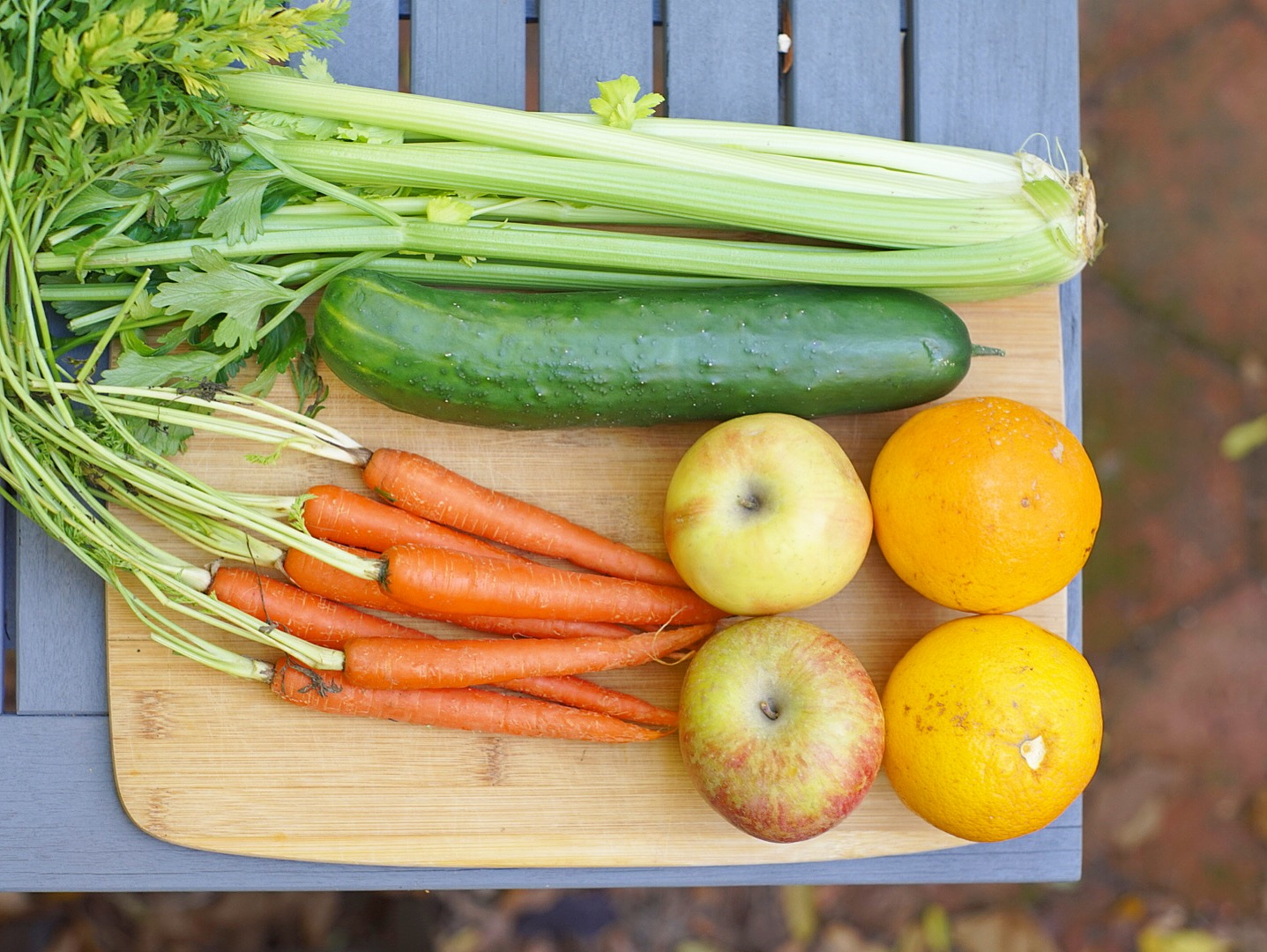 fruits and veggies for juice fast