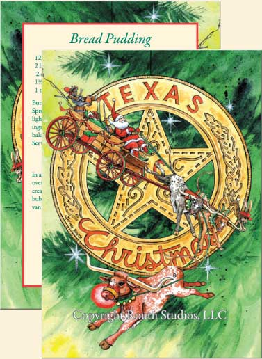 Texas Christmas Star Texas Christmas Cards CTX11B