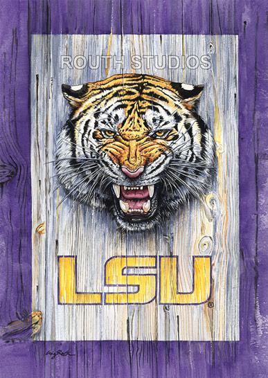 LSU Roars Original Routh Studios LLC