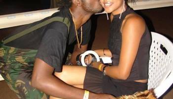 Bebe Cool with Zuena in early 2000s