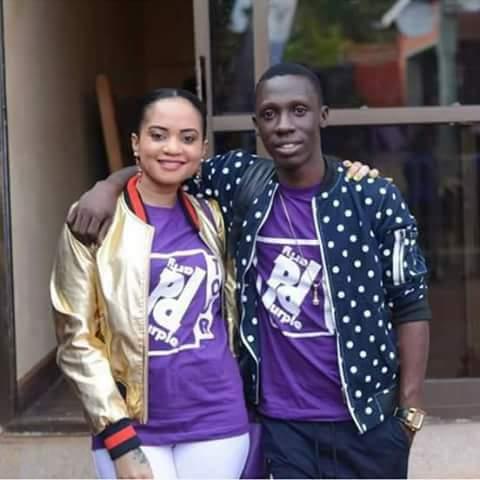 Douglas Lwanga with wife, Linda Lisa