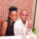 Alex Muhangi and Prim Asiimwe