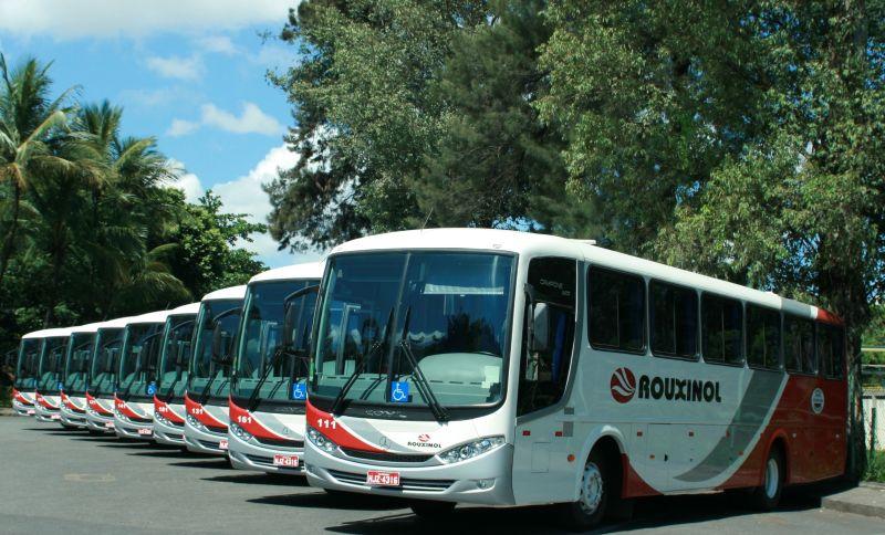 Frota ônibus convencional