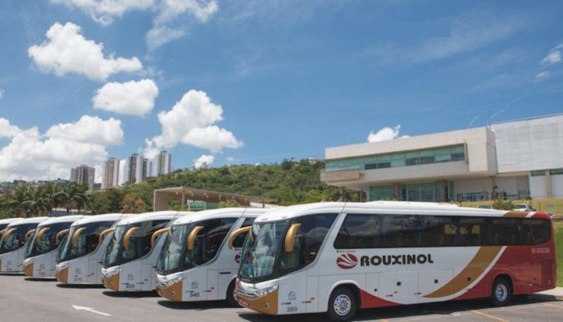 Frota ônibus executivo Rouxinol