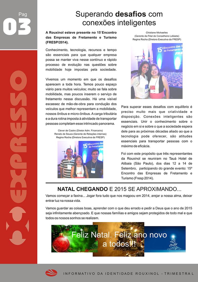 Jornal Expresso Rouxinol - Nº05