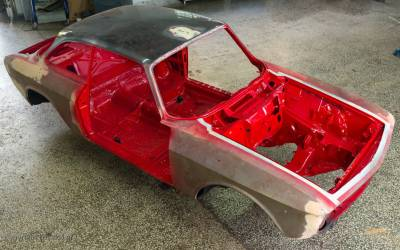Alfa Romeo GTV 2.0 / 1973 – stage 2 Ολοκλήρωση Φανοποιίας και Βαφής