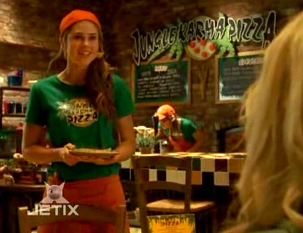 Image result for lily chilman  in jungle karma pizza uniform