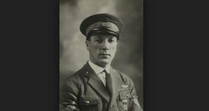 Una foto del rovatese Attilio Caratti, morto nel 1928 durante l'impresa del dirigibile Italia