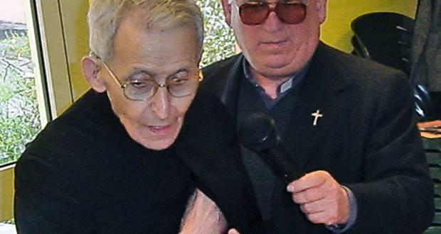 Don Gianmario Chiari con don Luigi Gregori, foto Baioni