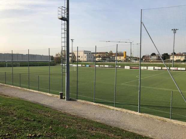 Il campo da calcio Campomaggiore dell'Asd Rovato, foto da Facebook