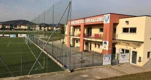 Il campo da calcio Campomaggiore dell'Asd Rovato