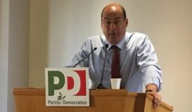 Zingaretti, candidato alla segreteria nazionale del Pd