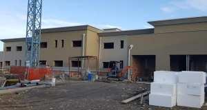 I lavori per la realizzazione della nuova caserma della Finanza a Rovato