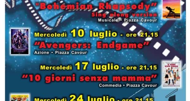 Cinema in piazza a Rovato