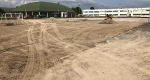 L'esterno del Palazzetto dello sport, foto pagina Facebook Città di Rovato