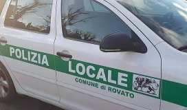 Polizia locale di Rovato, foto da Facebook