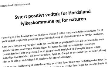 gaupe Hordaland