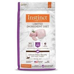 Instinct LID rabbit recipe cat food