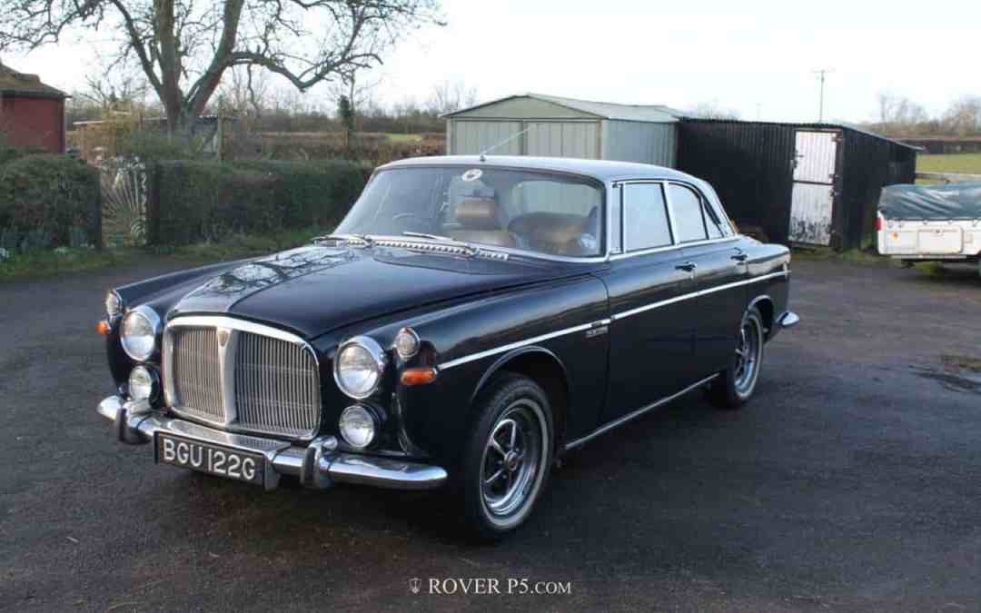 Buying a Rover P5B Coupe