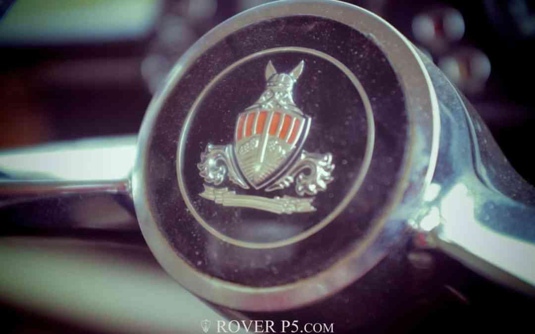 About BGU 122G-Rover 3.5 Litre P5B Coupe