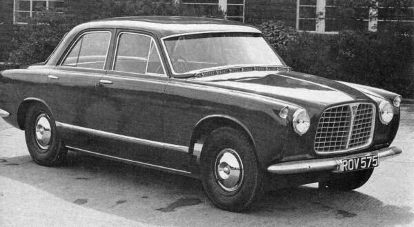 Rover P5 and P5B Development: Rover P5 Prototype May 1955