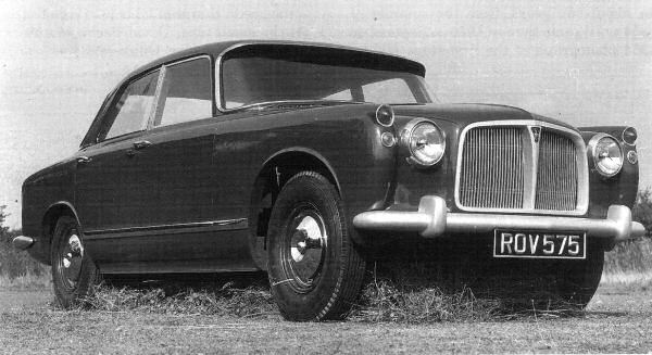 Rover P5 and P5B Development: Rover P5 Prototype September 1955