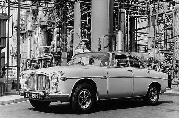 Rover P5 and P5B Development: Rover P5B (3.5 Litre)