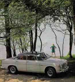 Brochure---1967---Rover-3.5-Litre---Image---White-Coupe-Lakeside