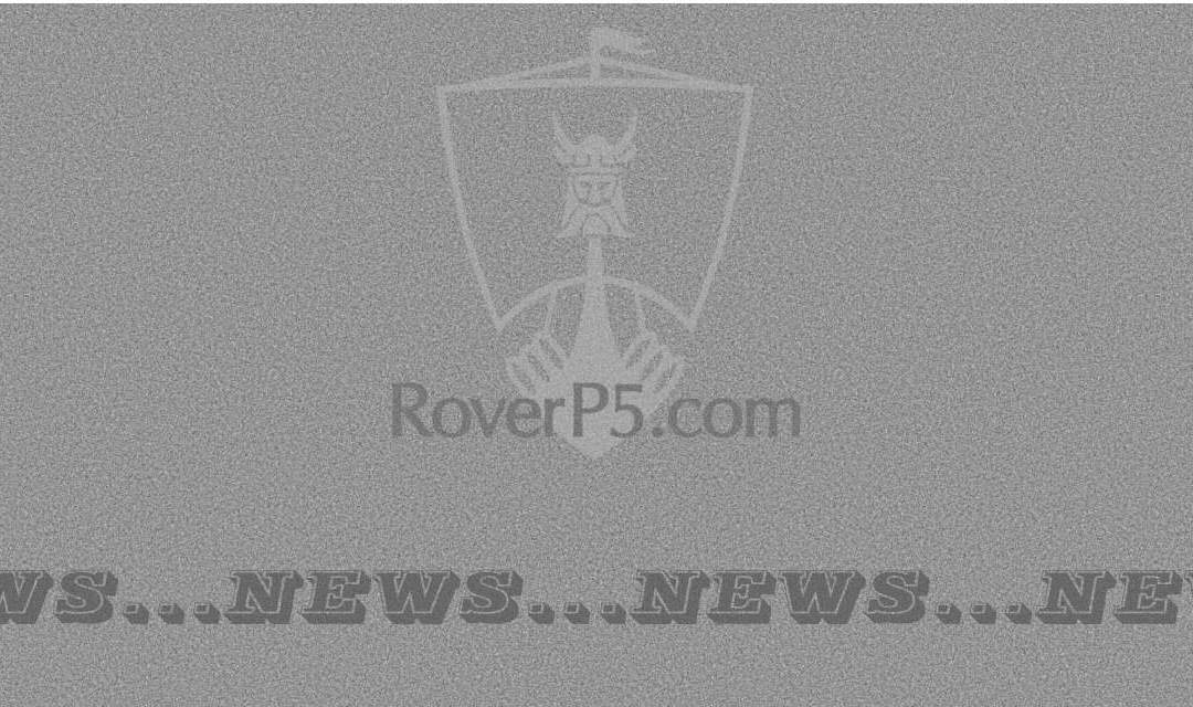 RoverP5.com Website Re-organisation