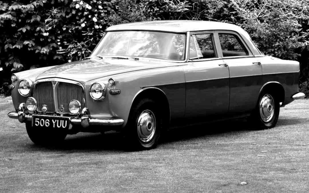 Car For Sale: 506 YUU: Rover P5 Mk1A Automatic