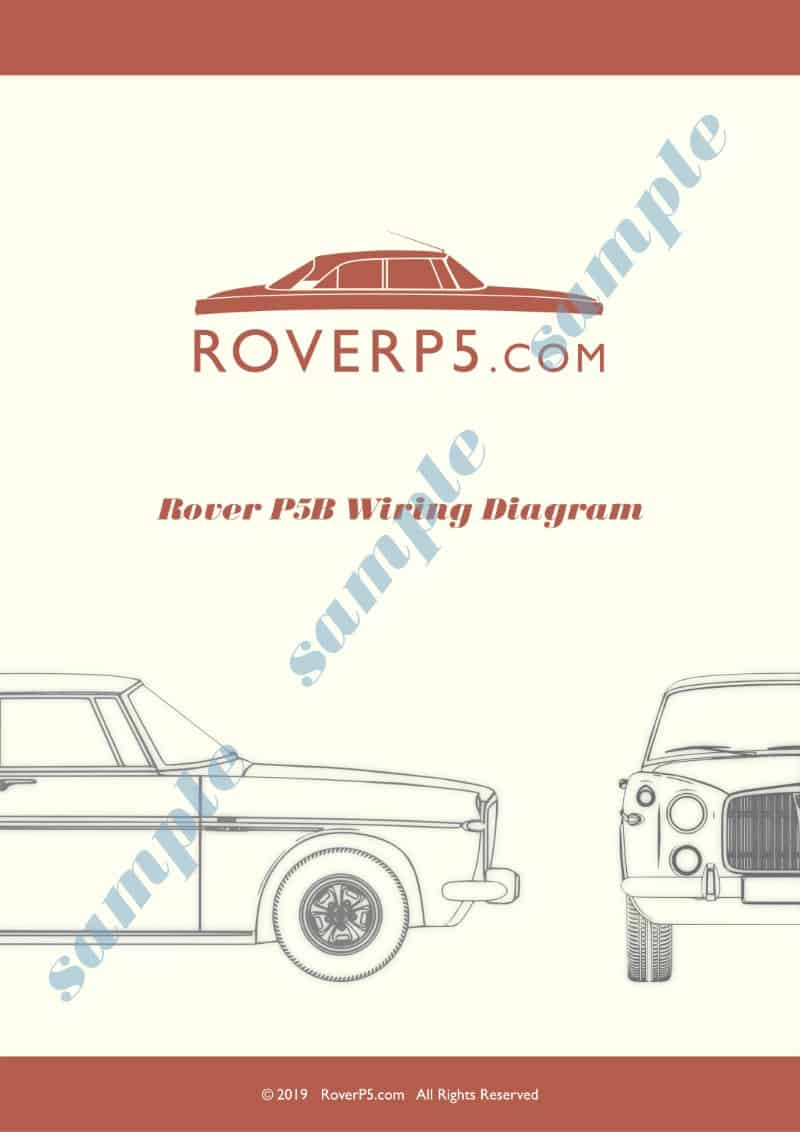 Rover P5b Saloon And Coupe Wiring Diagram  Download