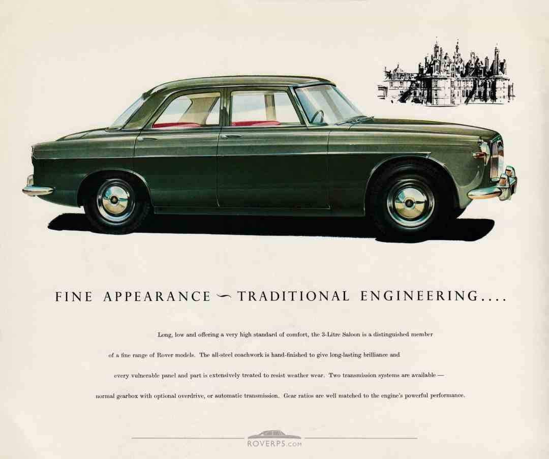 Brochure - 1959 - Rover The 3-Litre Saloon - Page 03