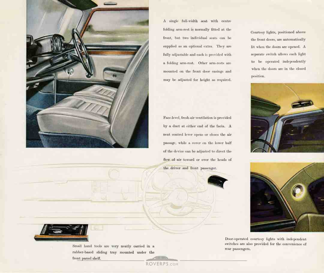Brochure - 1959 - Rover The 3-Litre Saloon - Page 08